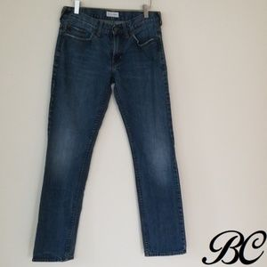 Dillon Skinny Jeans Med Wash Distressed Faded